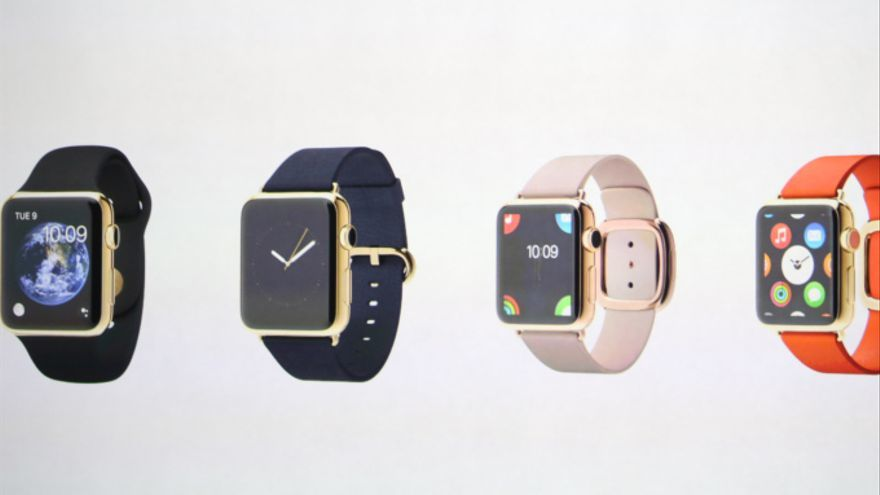 Apple ha creado múltiples diseños para su reloj inteligente