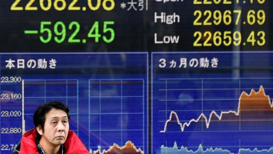 La Bolsa de Tokio sube un 0,72 % en el cierre hasta los 21.892,78 puntos