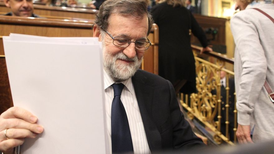 Rajoy hará hoy balance en el Congreso de su mandato, de la aplicación de la Constitución y del 155