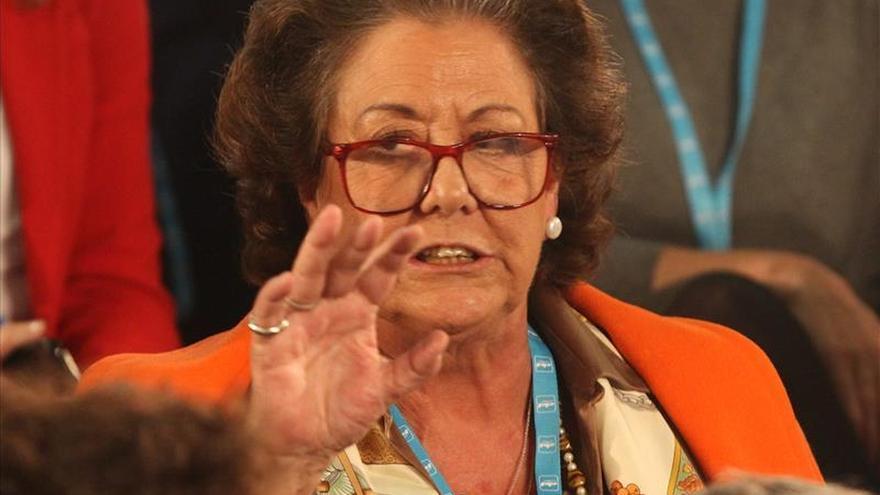 Rita Barberá pide la dimisión del grupo municipal socialista de Valencia