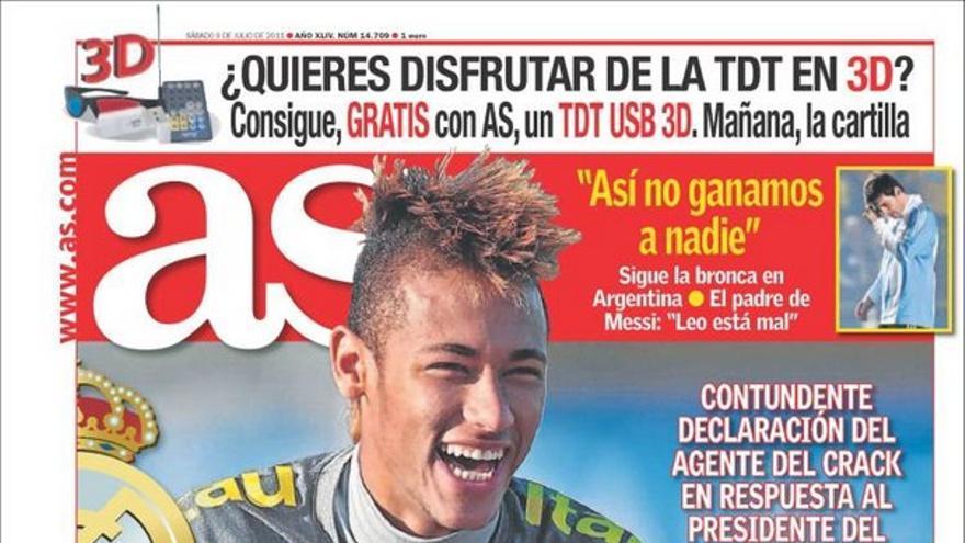 De las portadas del día (09/07/2011) #11