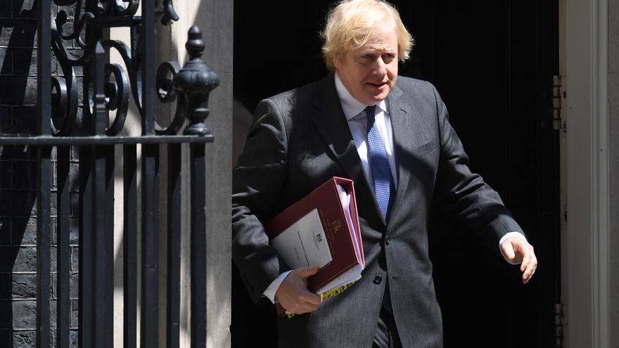 En la imagen, el primer ministro, el conservador Boris Johnson.