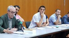 Rueda de prensa de los trabajadores de la Fundación Orquesta Filarmónica de Gran Canaria