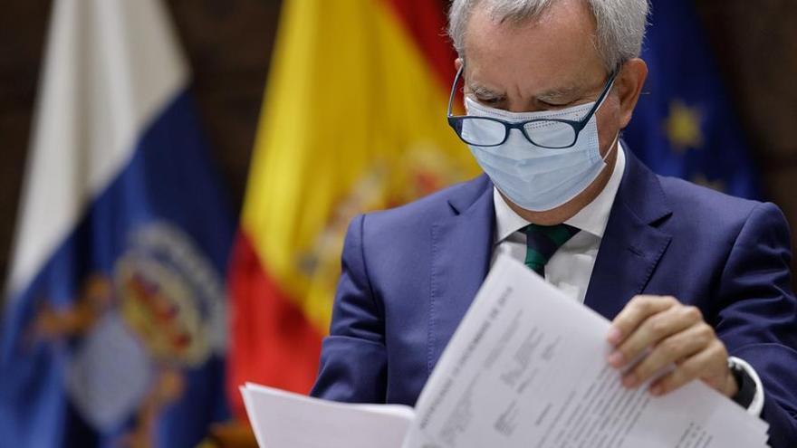 """El Gobierno reitera que los trenes de Tenerife y Gran Canaria son una """"oportunidad"""" para Canarias, no una prioridad"""