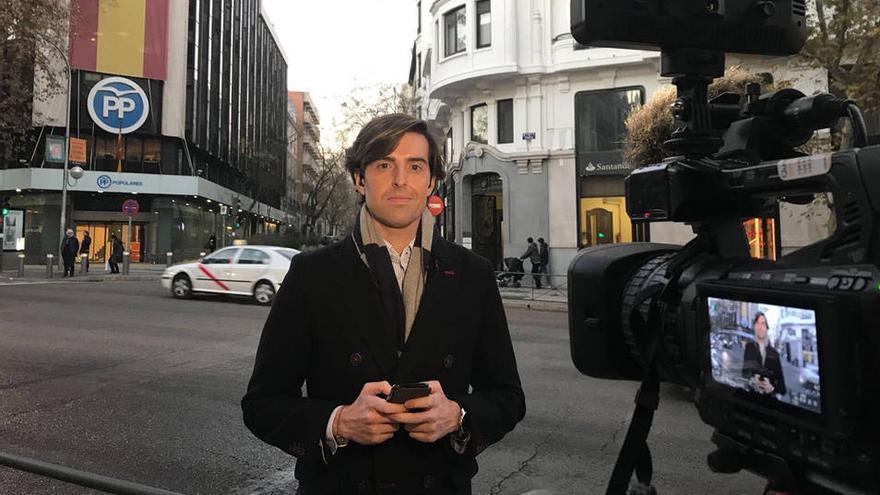El periodista Pablo Montesinos, nuevo cabeza de lista del PP por Málaga.