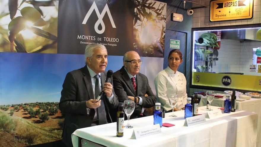 Presentación del nuevo aceite de la DOP Montes de Toledo. FOTO: Multimedia