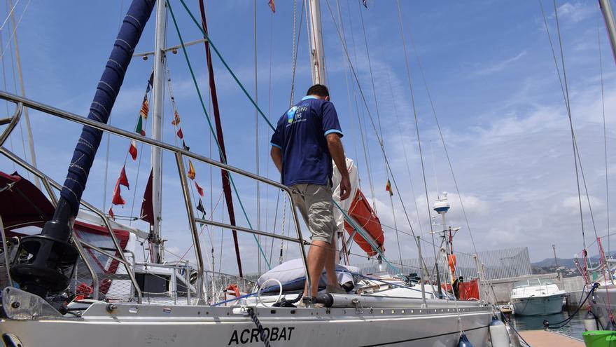En la imagen, el barco Acrobat.