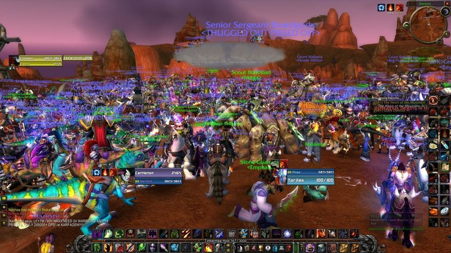 Una raid en World of Warcraft