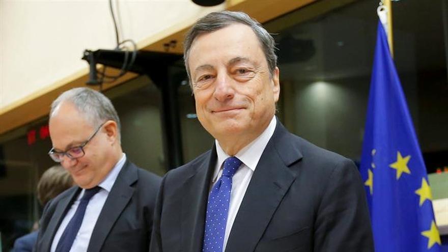 """Draghi: hay """"serias preocupaciones"""" sobre la sostenibilidad de la deuda griegaEURODIPUTADOS EN BRUSELAS"""
