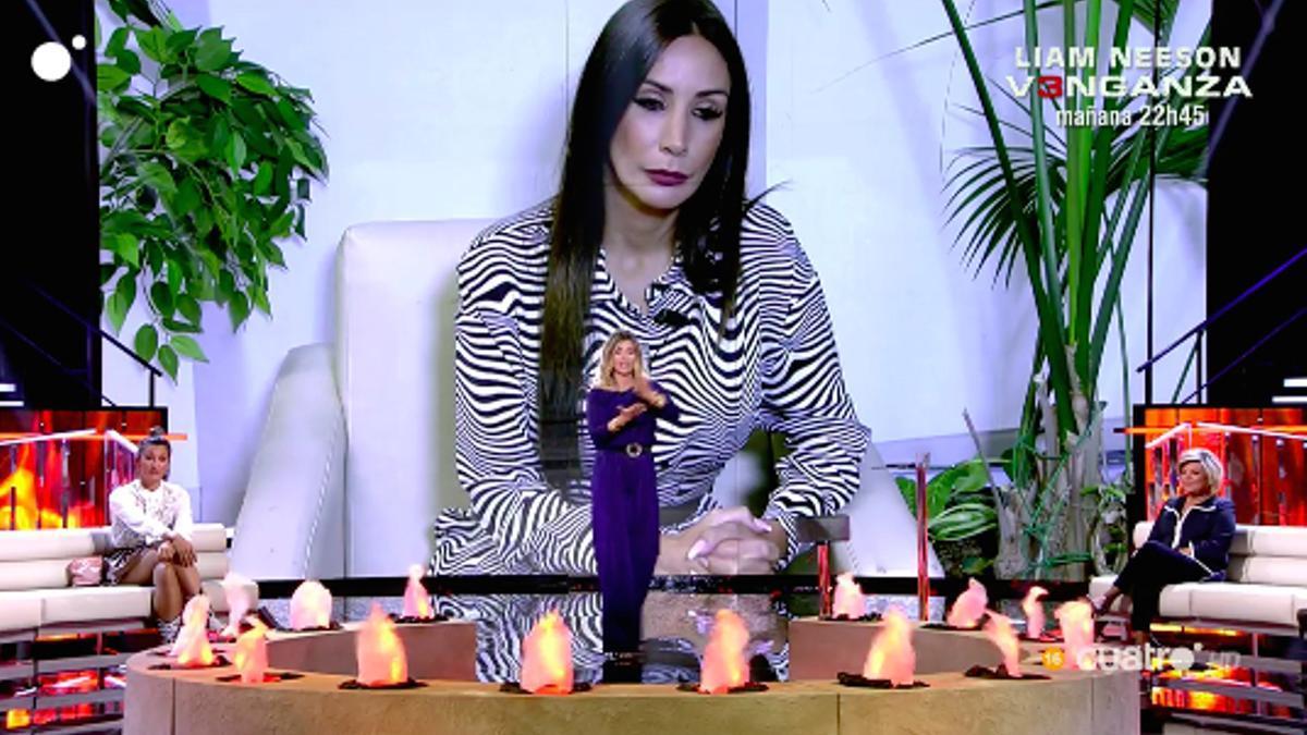 Fani, en el 'Debate de las Tentaciones'