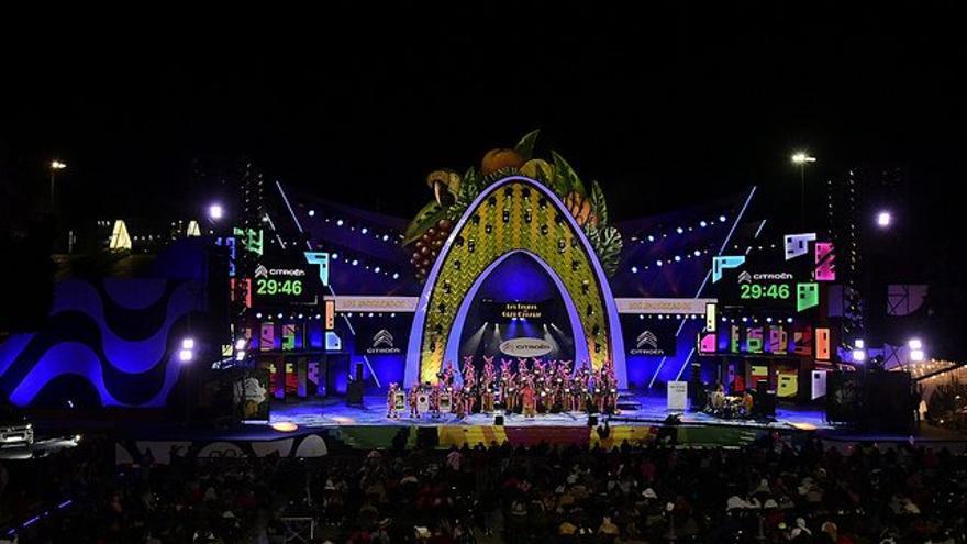Resultado de imagen de escenario carnaval las palmas 2019