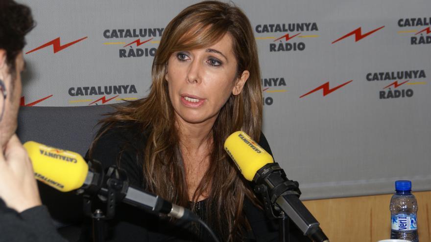 """Alicia Sánchez-Camacho cree que la declaración evidencia la """"debilidad"""" de Artur Mas y su sumisión a ERC"""
