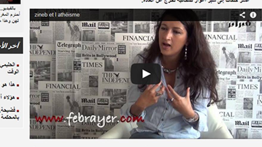 Una activista marroquí explica el ateísmo/ MSUR