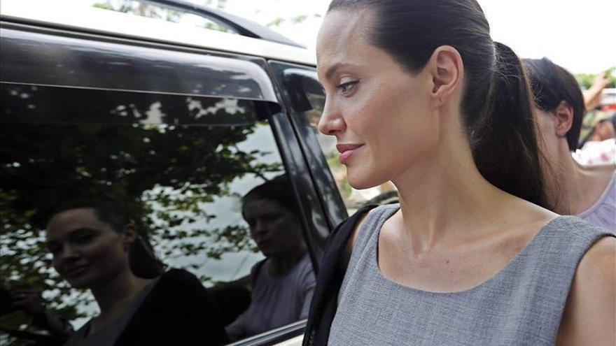 Angelina Jolie pide al Parlamento británico actuar contra la violencia sexual