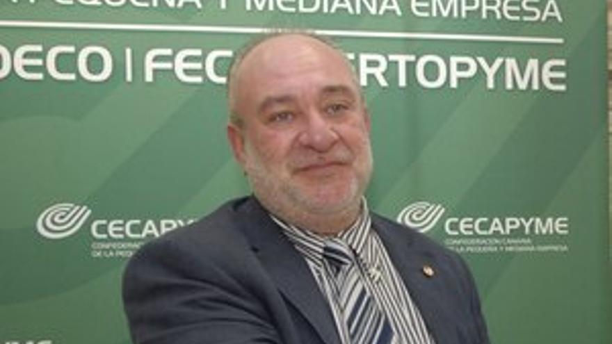 José Prudencio Lorenzo Santana, presidente de CECAPYME. (ACFI PRESS)