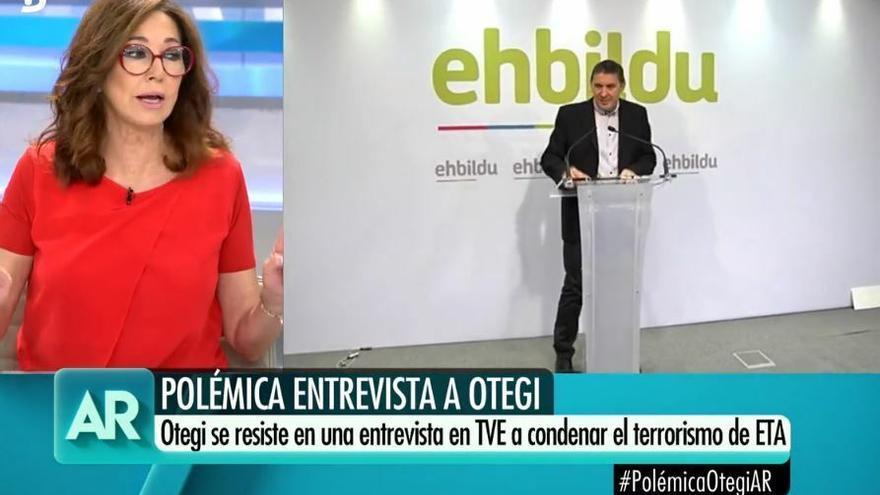 Ana Rosa compara la entrevista a Otegi en TVE con la que Telecinco hizo pagando a la madre de 'El Cuco'
