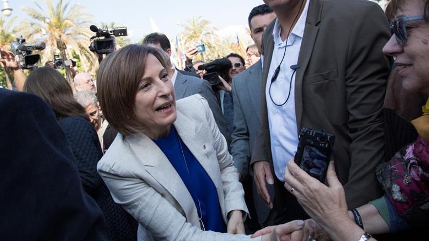 La presidenta del Parlament, Carme Forcadell, en una imagen de archivo