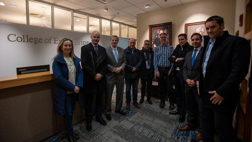 Navarra explora oportunidades de colaboración con las universidades de Harvard, Boston y el Mit, entre otras entidades