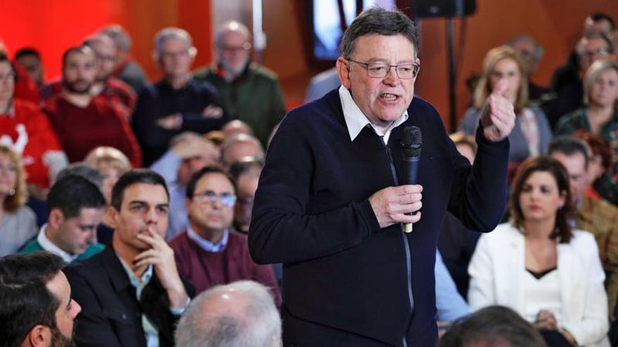 """Ximo Puig pide """"respeto"""" a Podemos tras sus críticas al PSOE sobre Gürtel"""