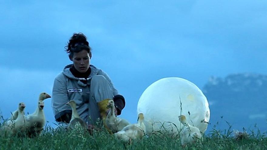 Segundo premio VIDA: Los gansos de la luna de Agner Meyers-Brandis