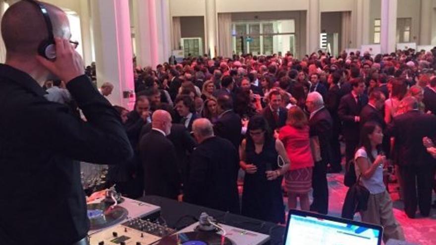 Celebración del 12 de octubre organizada por la Embajada de España en Bélgica en 2017.