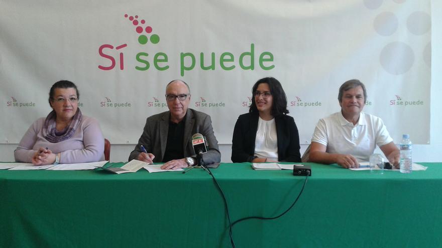 Presentación de la candidatura de Sí se Puede en Tacoronte