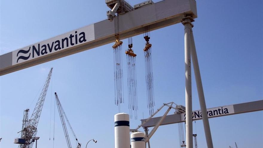 Muere un trabajador en los astilleros de Navantia en San Fernando