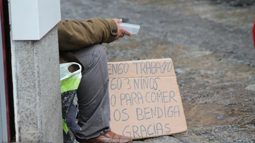 La Coordinadora de Personas sin Hogar convoca el jueves una 'quedada' en Santander