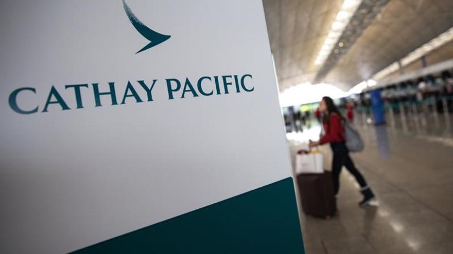 Cathay Pacific perdió 129 millones de euros en 2017, un 119 % más