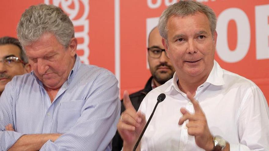 Pedro Quevedo y Sebastián Franquis comparecen tras los resultados de las elecciones Generales