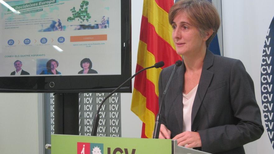 ICV advierte al PSOE de que el federalismo pasa por reconocer el 'derecho a decidir'