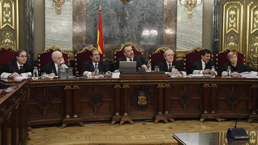 El tribunal que sentenció el juicio del procés.