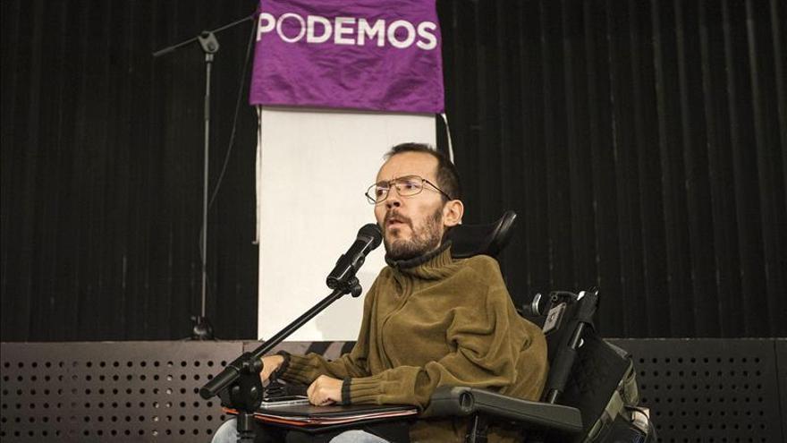 Pablo Echenique perfila su candidatura al Consejo Ciudadano de Podemos Aragón
