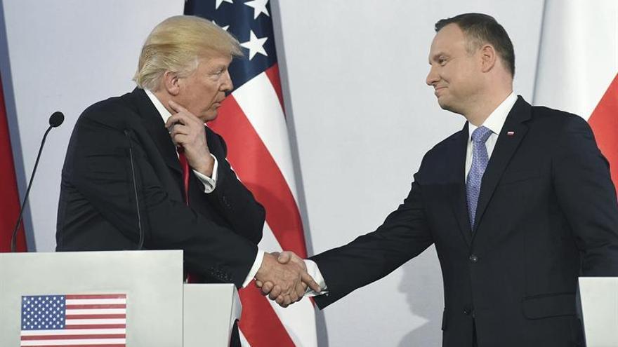 """EEUU acogerá a quienes """"compartan"""" sus """"valores"""", según Trump"""
