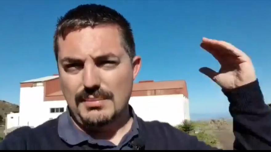 Amado Carballo, consejero de El Hierro Puede - Izquierda Unida Canaria