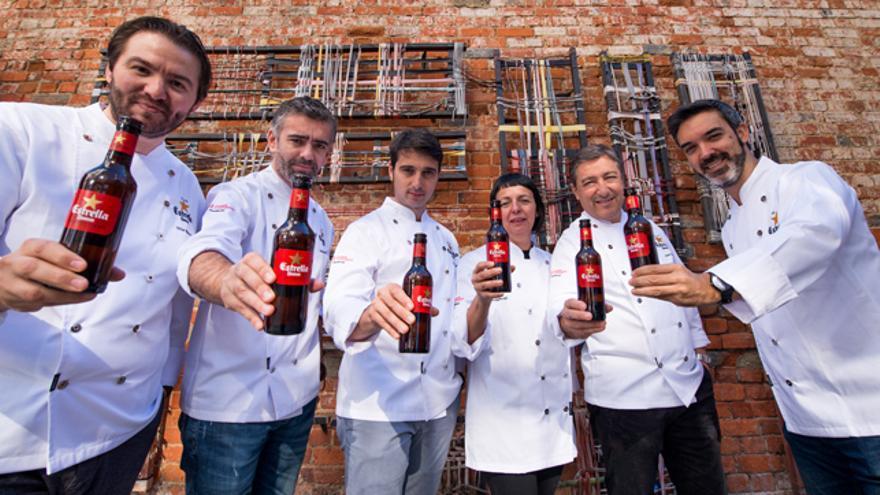 Joan Roca, Fina Puigdevall, Fran López, Vítor Matos, Alexandre Silva y Henrique Sá Pessoa deleitaron al público con distintos showcookings.