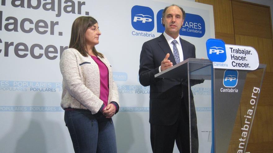 El candidato del PP en Cantabria: La única garantía de que gobierne el PP es votar al PP