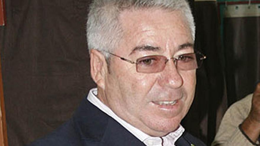 Paco Santiago, alcalde de Telde.
