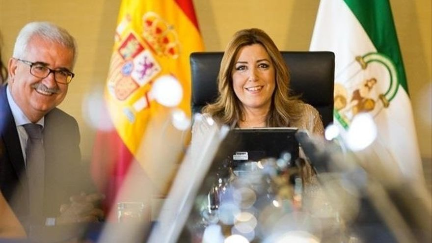 La Audiencia de Sevilla rechaza que Susana Díaz declare como testigo en el juicio de los ERE