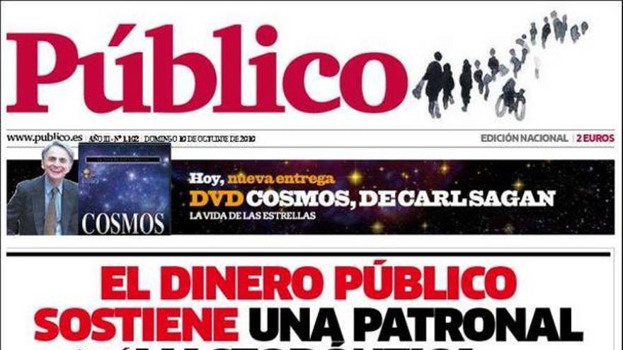 De las portadas del día (10/10/2010) #12