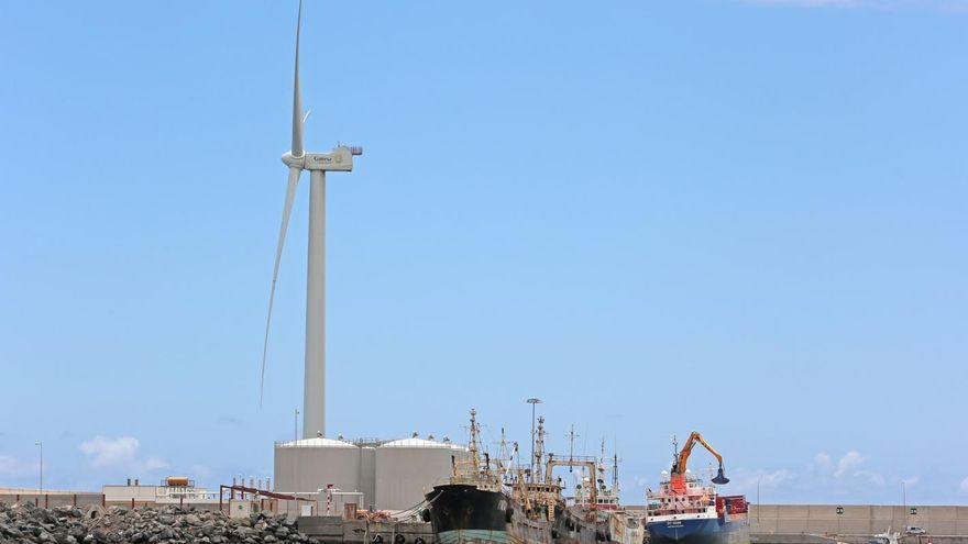 Puerto de Arinaga. (ALEJANDRO RAMOS)