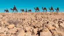 Cuando las caravanas de camellos movían la economía de la época.