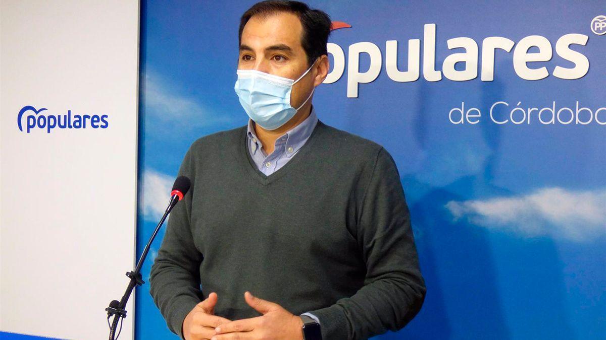 El portavoz del PP en el Parlamento andaluz y exalcalde de Córdoba, José Antonio Nieto.