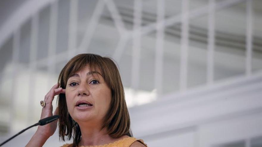 """Armengol cree """"razonable"""" consultar a la militancia sobre el nuevo Gobierno"""