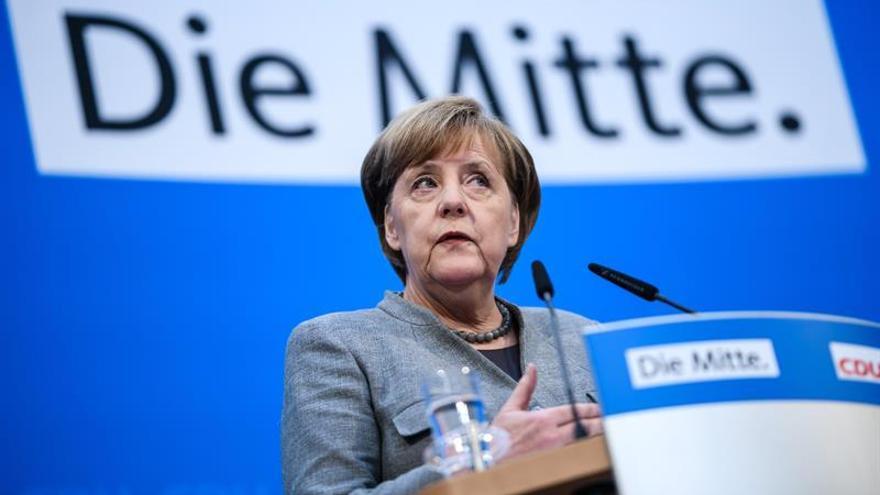 Un 47% de los alemanes partidarios de que Merkel no termine la legislatura
