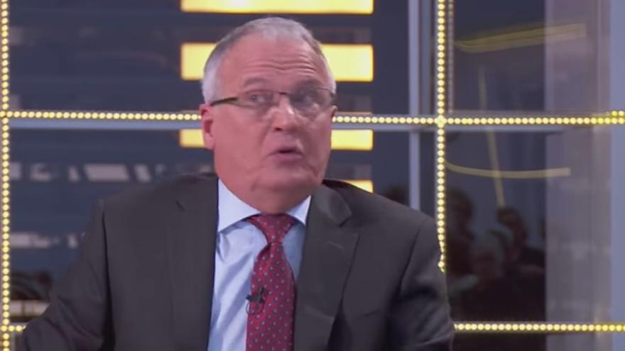 Josep Bou durante la entrevista en TV3