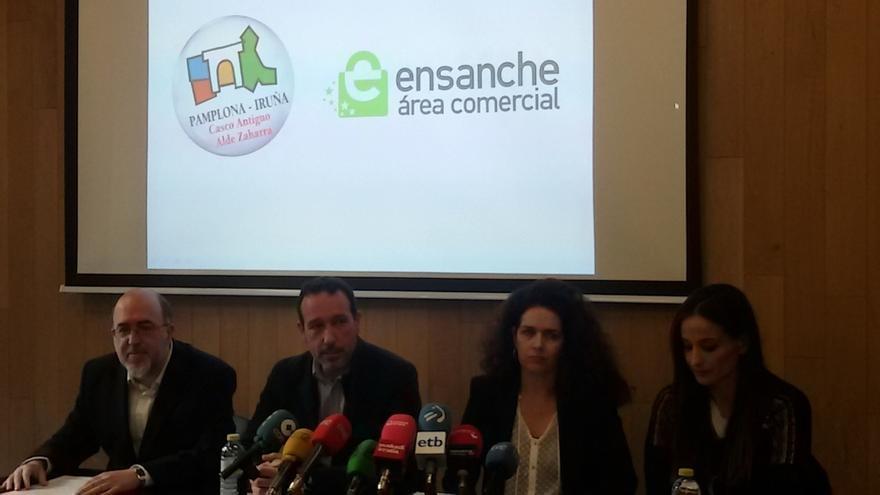 Asociaciones de comerciantes dicen que el plan de amabilización ha costado 10 millones al comercio del centro pamplonés