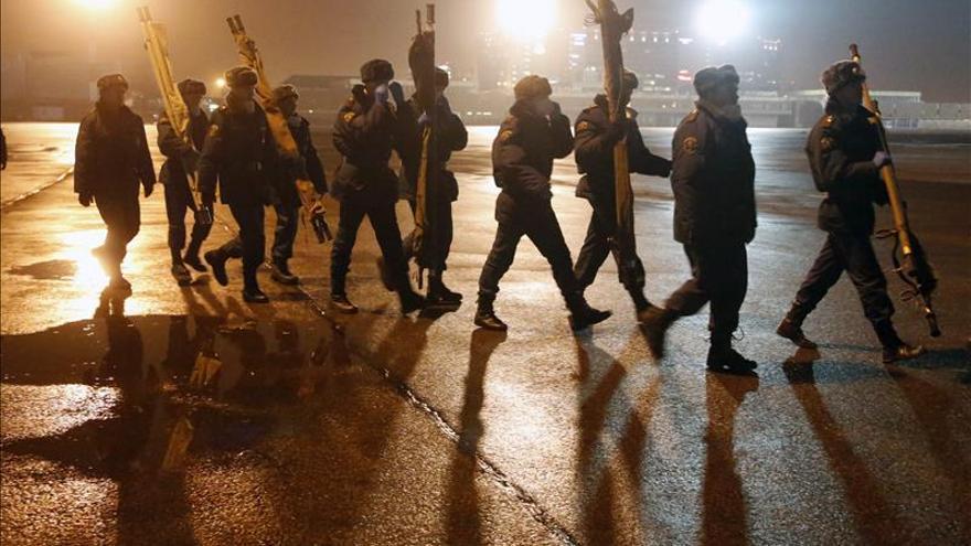 Rusia planea concluir las labores de rescate en Egipto esta noche