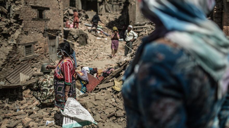 El nuevo seísmo llega cuando Nepal aún trata de recuperarse del terremoto del pasado 25 de abril que dejó a 8 millones de personas afectadas y más de 8.000 muertos. © Pablo Tosco / Oxfam Intermón