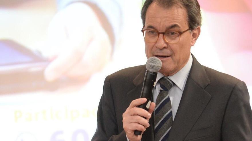 """Artur Mas considera la petición del Tribunal de Cuentas una """"caza mayor"""" para dar miedo ante el 1-O"""